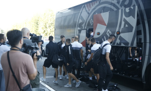 Partizan otputovao u Istanbul: Bez Jankovića na Bešiktaš