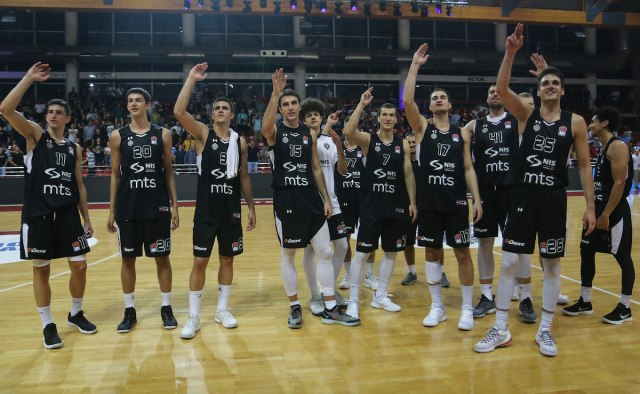 Partizan počinje Evrokup, prva stanica Italija
