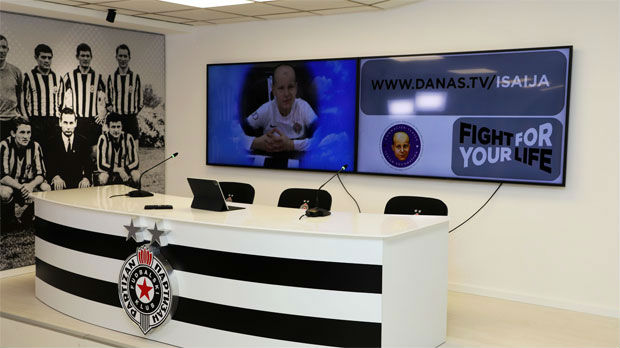 Partizan podržao Fondaciju Isaija Pantić