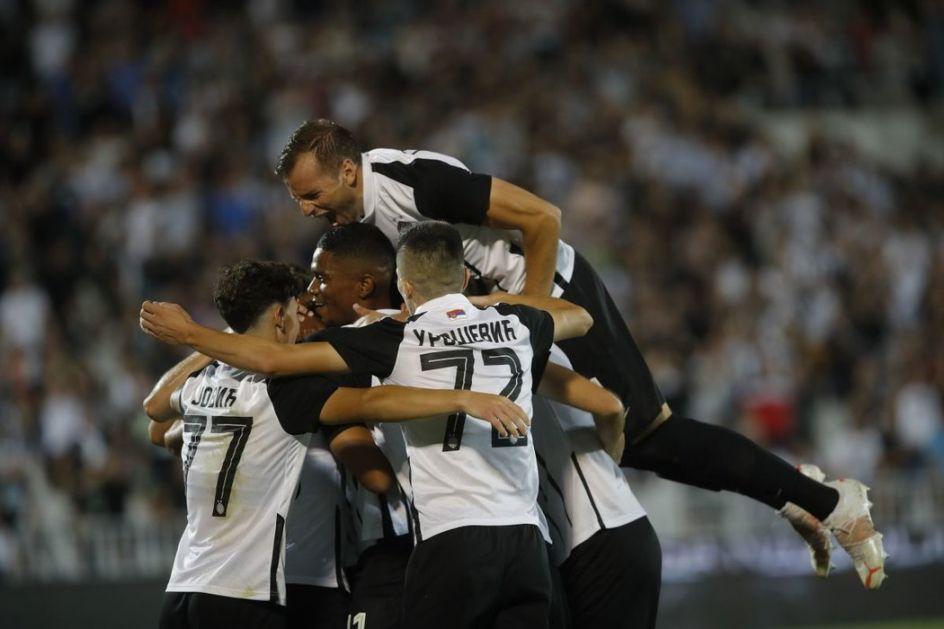 Partizan prošao dalje golovima Pantića i Rikarda