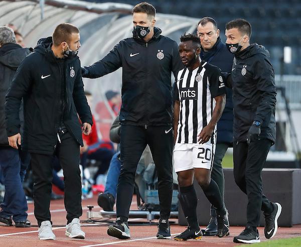 Partizan se oglasio povodom Sumine povrede