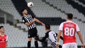 Partizan ubedljiv protiv TSC-a, Holender dvostruki strelac