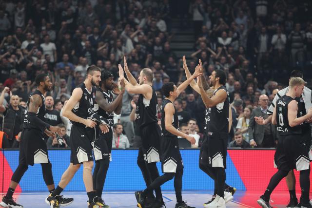 Partizanova surova dominacija u Evrokupu, pogled na najbolju petorku izgleda neverovatno!