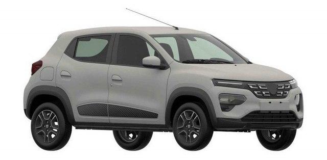 Patentni crteži otkrivaju kako će izgledati električna Dacia FOTO