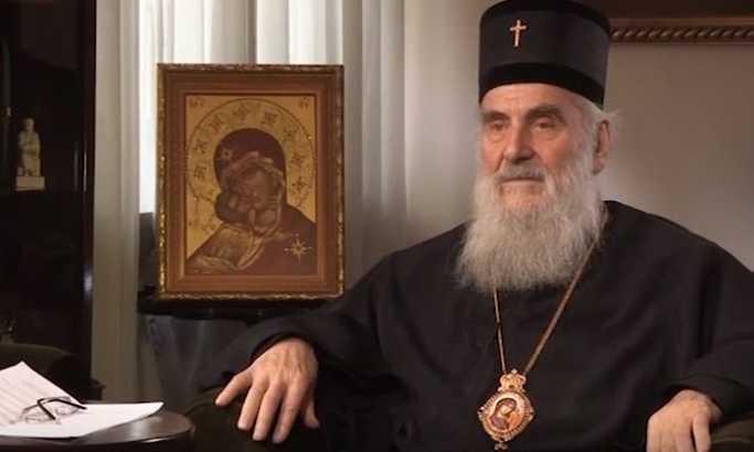 Patrijarh Irinej: Glavni problem Srbije je Zapad