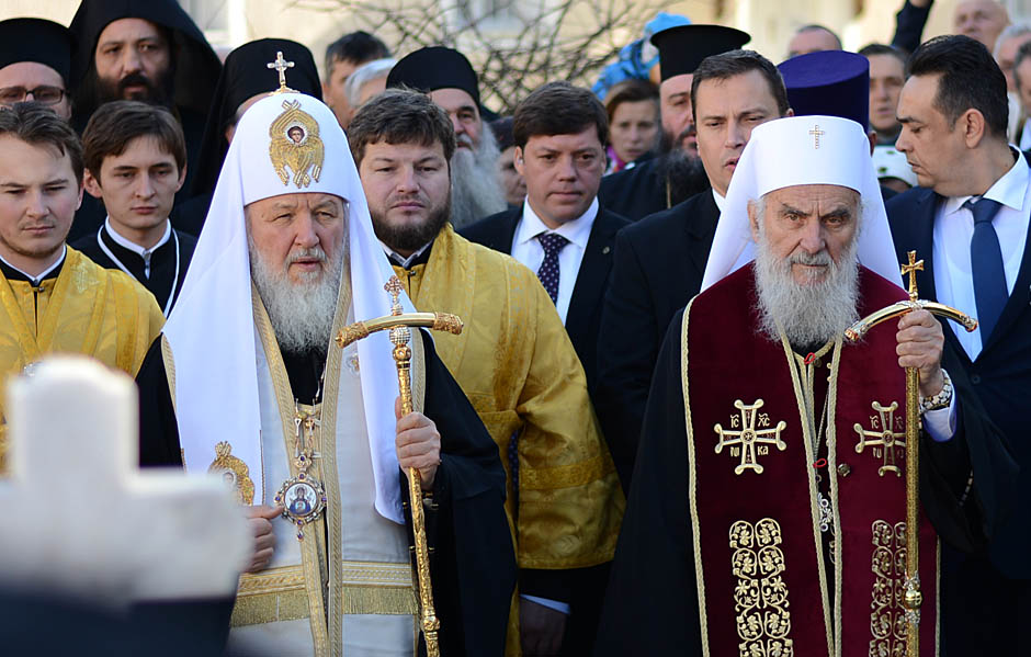 Patrijarh Kiril: Kosovo nam je svima nauk