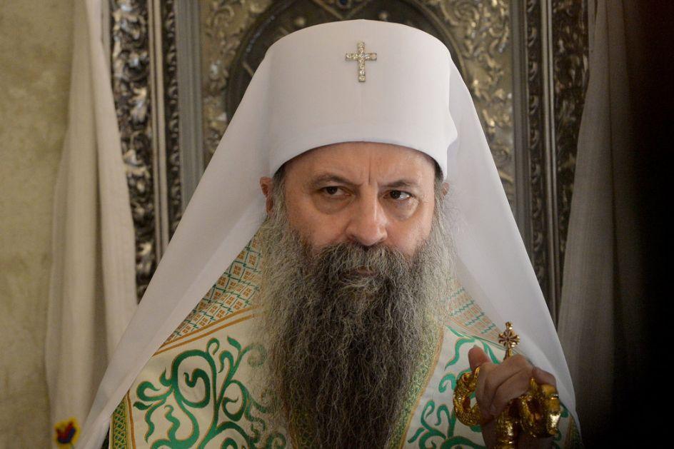 Patrijarh Porfirije: Hvala na brizi