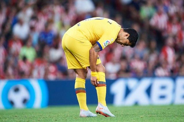 Peh za Barselonu, povredio se i Suares