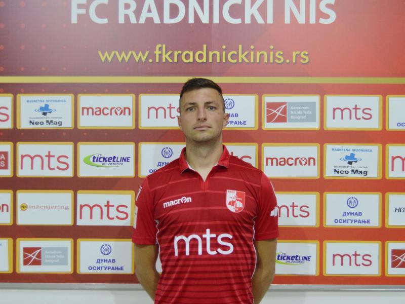 Pejović se vratio u tim niškog Radničkog