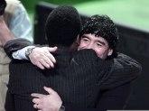 Pele se oprostio od Maradone: Volim te, Dijego FOTO