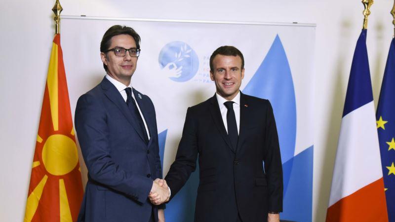 Pendarovski: Makron rekao da odluka o pregovorima sa EU može biti u maju