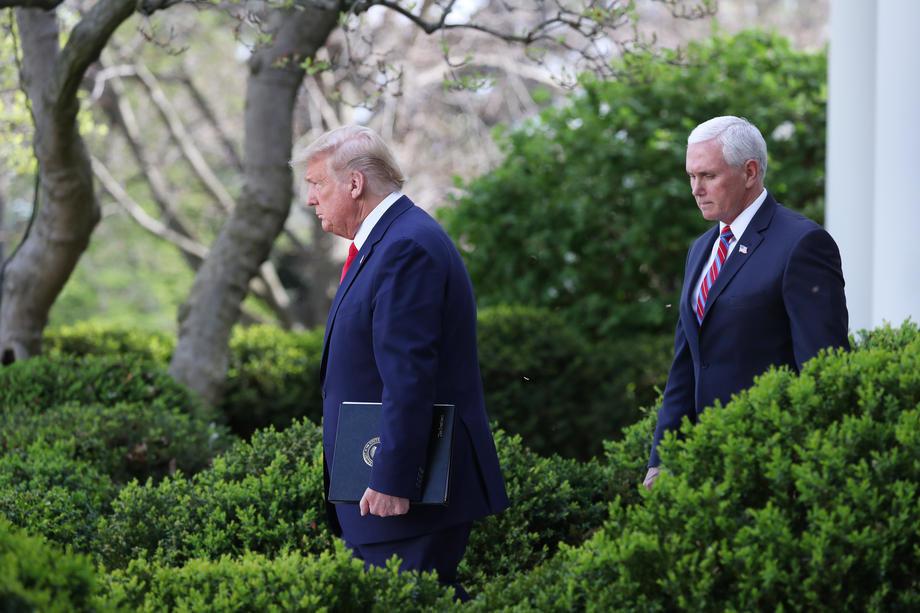 Pens neće biti na Trampovoj oproštajnoj ceremoniji