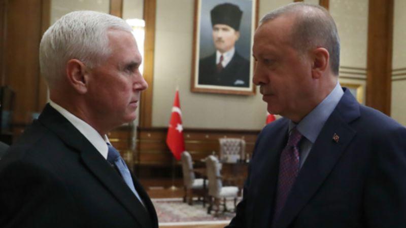 Pens ubedio Erdogana da prihvati primirje u Siriji