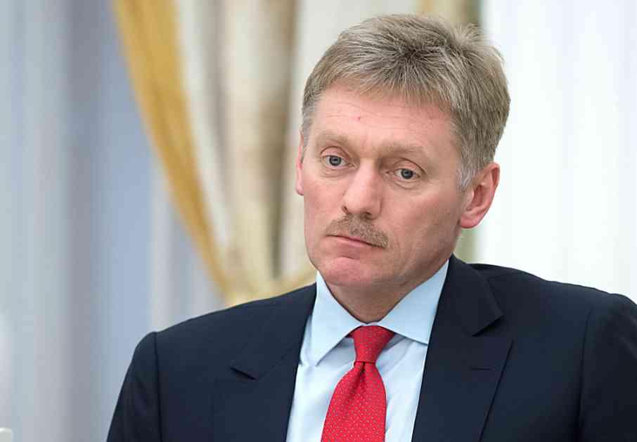 Peskov: Moskva predlagala Vašingtonu da se održe sastanci o gorućim problemima