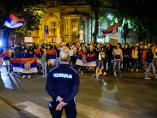 Peti dan protesta u Nišu - buka i jasne poruke mladih upućene policiji [foto]