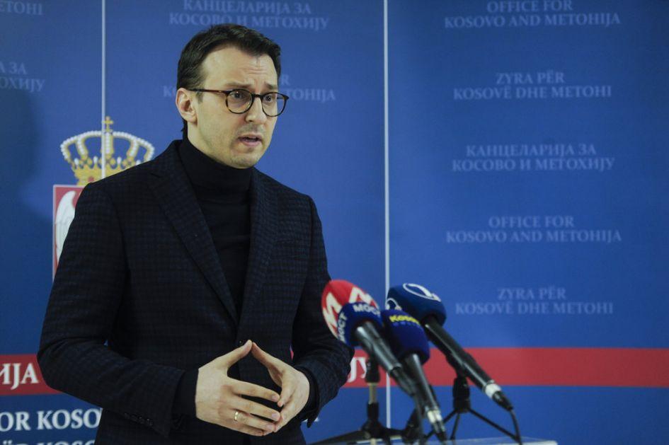 Petković: Haradinaj otvoreno preti stvaranjem velike Albanije