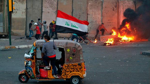 Petoro poginulo, više desetina ranjeno tokom sukoba u Bagdadu