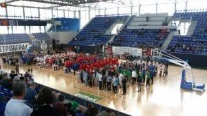 Petrovgrad basketball cup u Kristalnoj dvorani