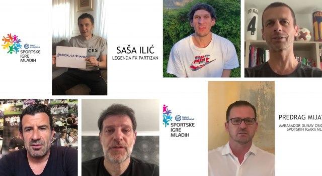 Piksi, Mijat, Sale, Bobi, Figo poručuju: Kod kuće je zakon VIDEO