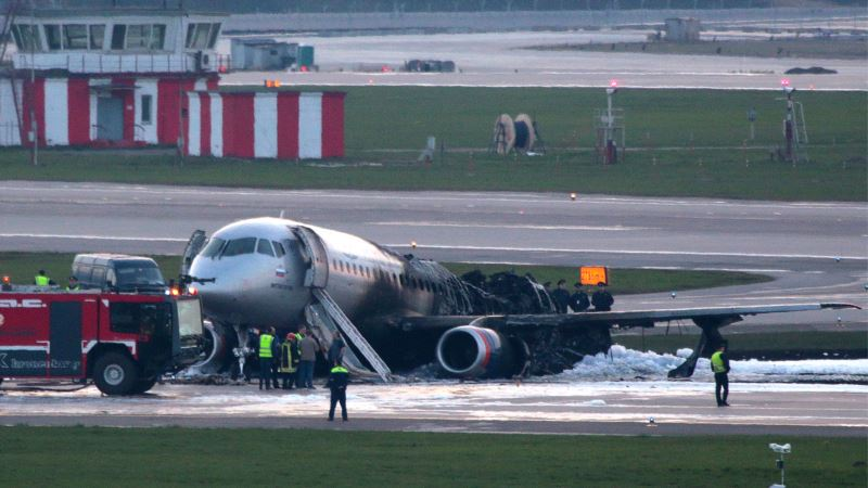 Pilot kriv za nesreću na moskovskom aerodromu Šeremetjevo
