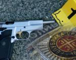 Pištolj kojim je pretio ženi, policija pronašla u zvučniku