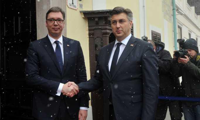 Plenković poručio: Hrvatska neće popuštati Srbiji