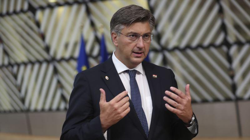 Plenković u Kninu: Žalimo i za žrtvama ratnih zločina sa hrvatske strane