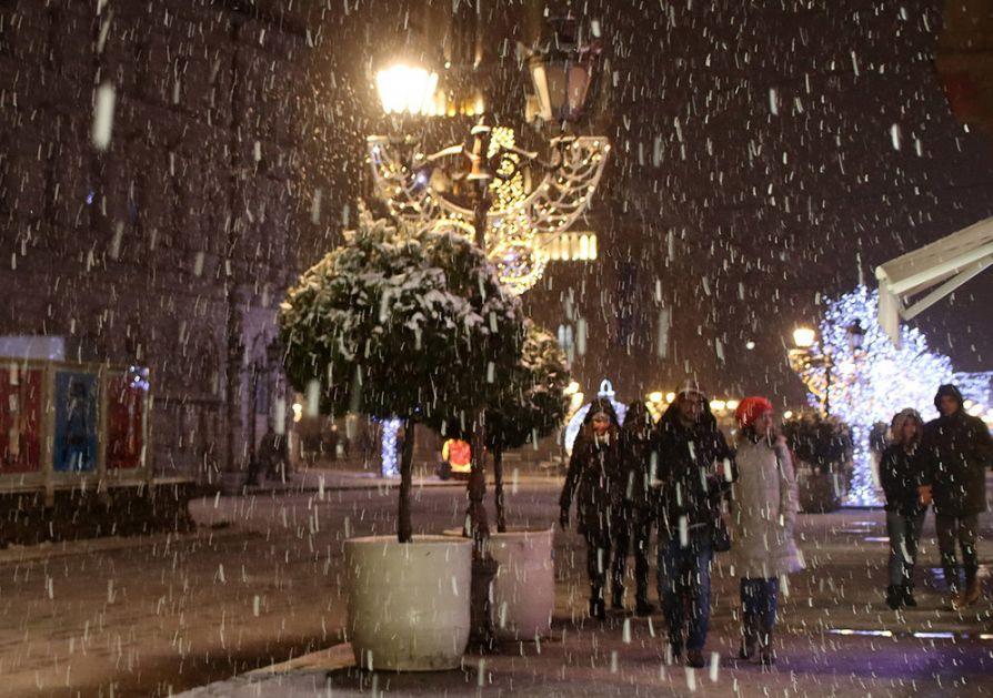 Po podne slaba kiša i sneg, temperatura u osetnom padu