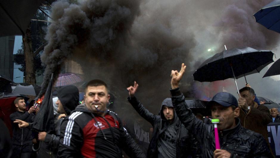 Pobuna studenata u Tirani