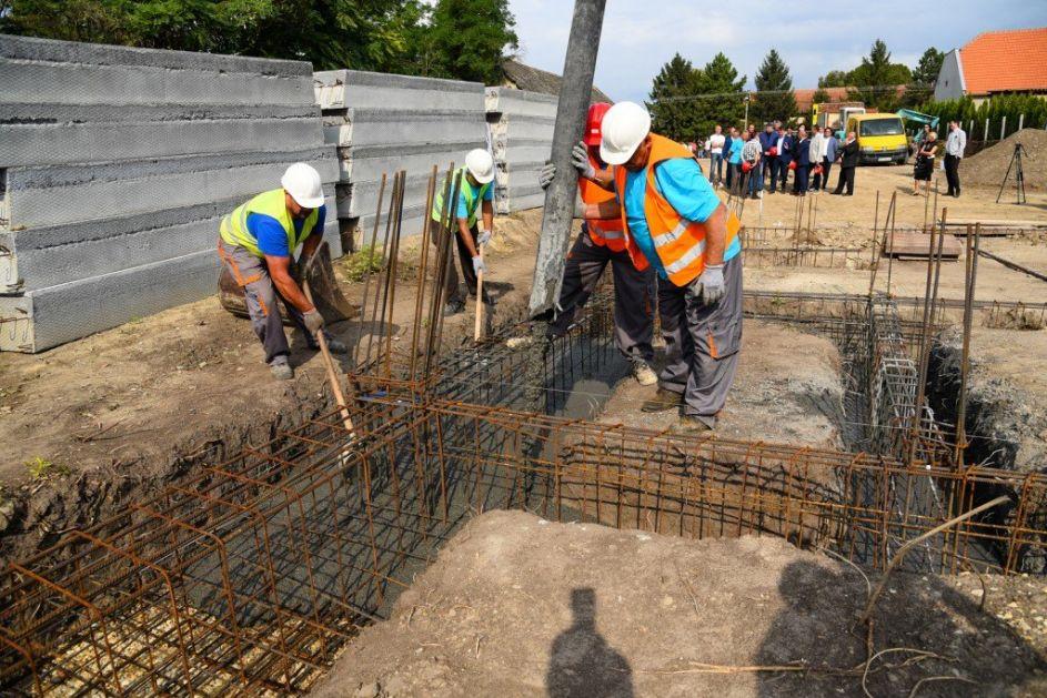 Počela izgradnja nove sportske hale u Despotovu