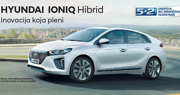 Počela prodaja Hyundaija IONIQ Hybrid u Srbiji