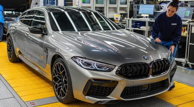 Počela proizvodnja BMW-a M8 Gran Coupe