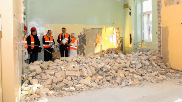 Počela rekonstrukcija tri klinike Kliničkog centra Vojvodine