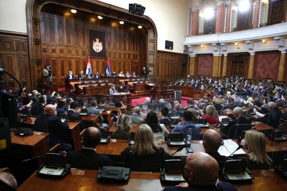 Počela sednica Skupštine Srbije