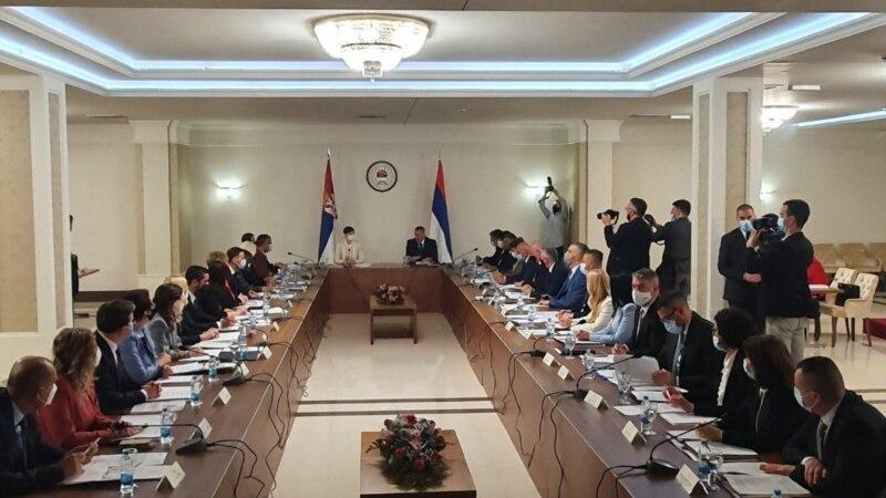 Počela sjednica vlada Srbije i Republike Srpske u Istočnom Sarajevu