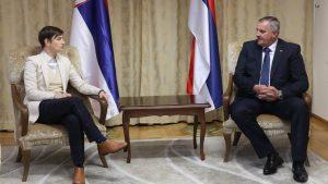 Počela zajednička sednica vlada Srbije i Republike Srpske