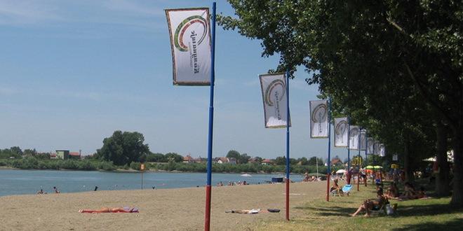 Počeli radovi na uređenju plaže u Sremskoj Mitrovici