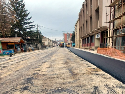 Počelo asfaltiranje poslednje deonice u Bore Stankovića