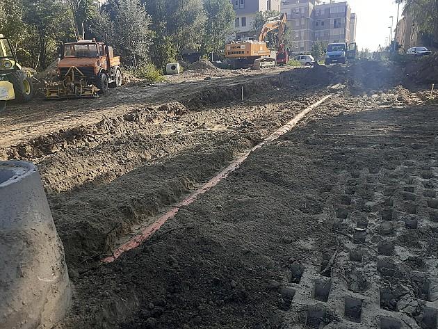 Počelo infrastrukturno uređenje prostora oko zgrada za bezbednjake na Jugovićevu