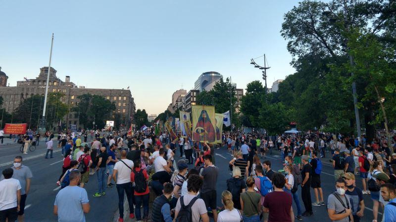 Protest u Beogradu bez incidenata, mirno i u drugim gradovima Srbije