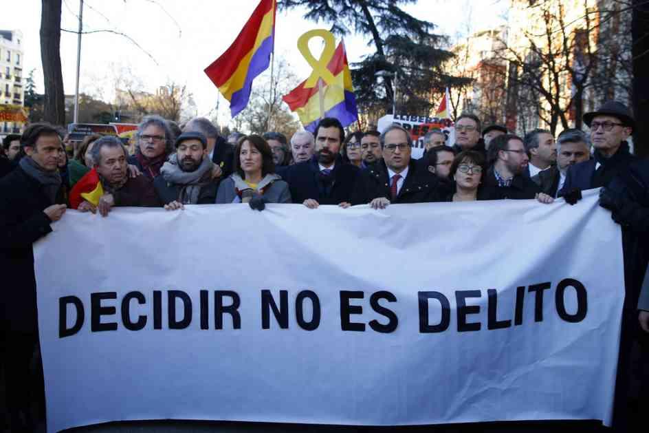 Počelo suđenje separatistima u Madridu uprkos protestima