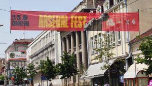 Počeo Arsenal fest u Kragujevcu