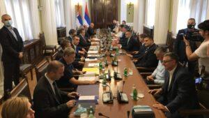 Počeo novi sastanak vlasti i opozicije bez stranih posrednika, učestvuje i Vučić