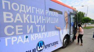Počeo sa radom autobus za vakcinaciju u Kragujevcu