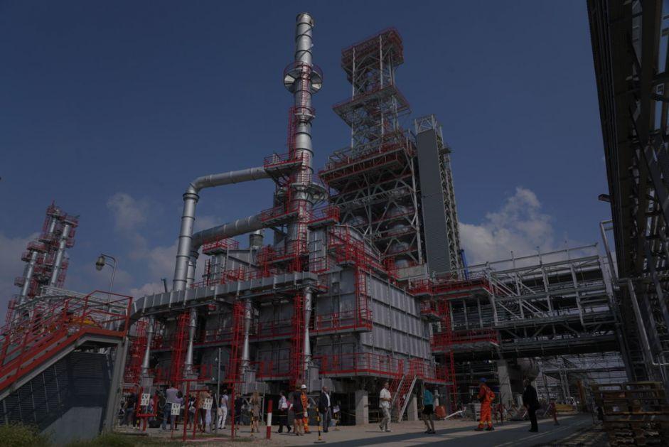 Početak rada termoelektrane - toplane u Pančevu krajem 2020.