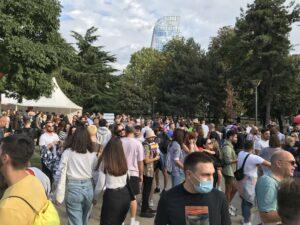Nekoliko hiljada učesnika na Prajdu u Beogradu, Bekvalac: I ja sam deo LGBT zajednice