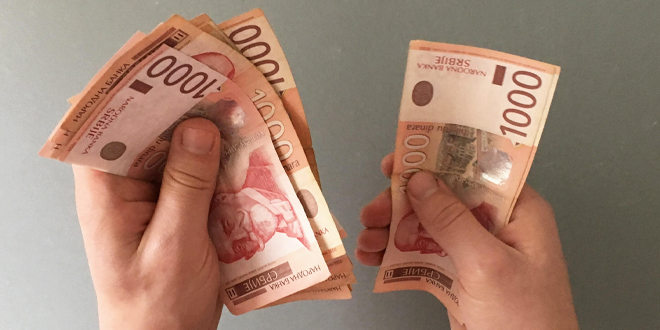 Danas i sutra dva miliona ljudi dobija po 30 evra