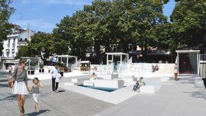 Počinje izgradnja fontane na platou kod Cvetnog trga