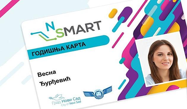 Počinje izrada novih mesečnih pretplatnih karata, od 25. marta dopuna samo za NSMART kartice