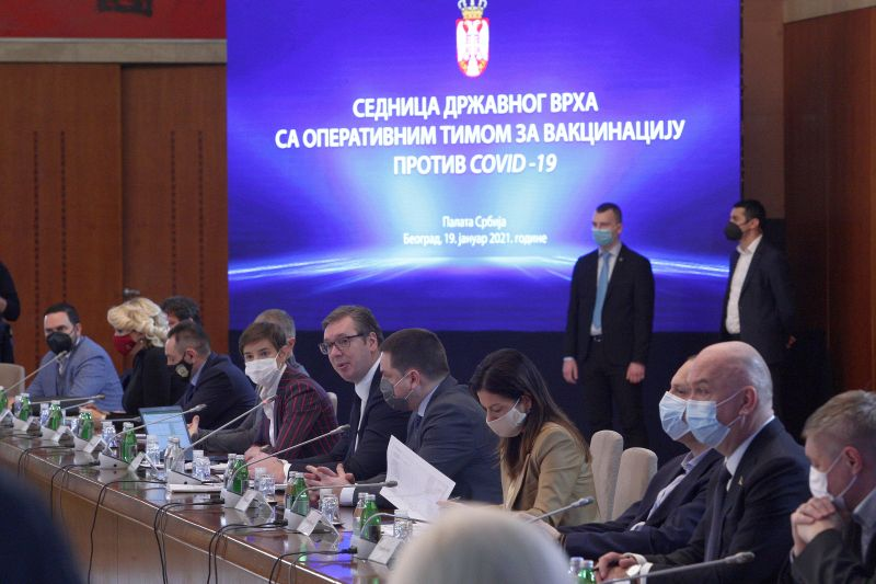 Počinje masovna vakcinacija stanovništva u Srbiji